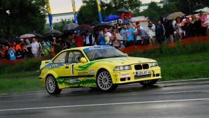 Jede Menge Rallye-Action gab es vor allem im teilweise verregneten ersten Durchgang des Neustadt´er Asphalt-Rundkurses