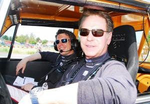 Fuhr mit Beifahrer Philipp Späth im historischen BMW 2002 einen weiteren Klassensieg heraus: Ex-FIA-Europameister Michael Stoschek
