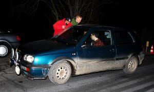 Schlugen sich bei Nacht noch besser als am Tag: Dieter Strunz und André Wittmann